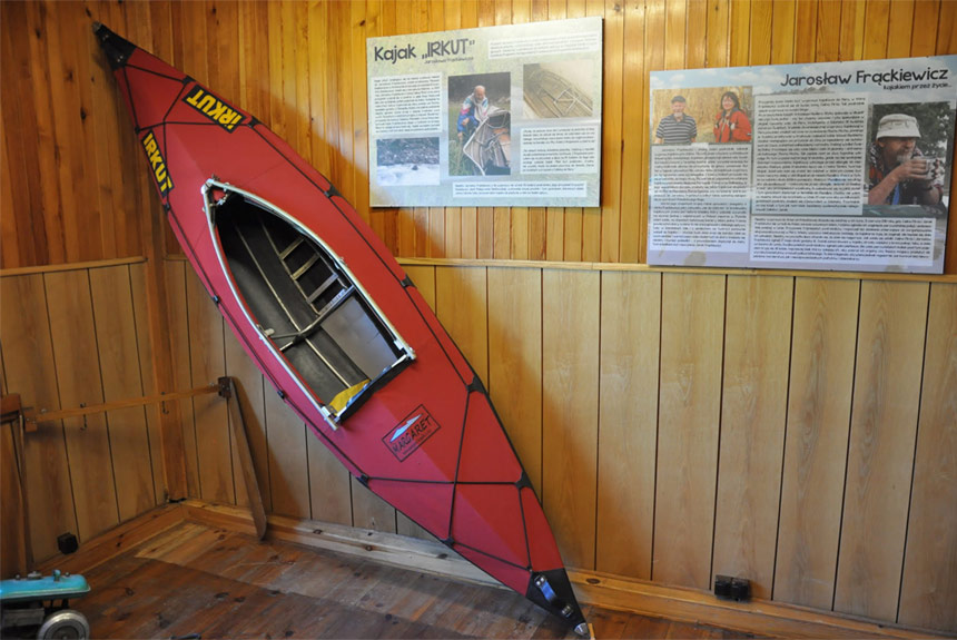 Museum of Kayak in Drohiczyn Poland